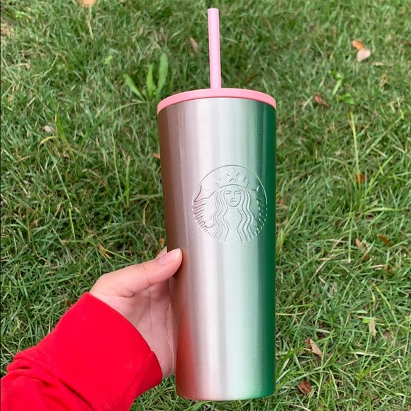 Starbucks cup stainless steel ombré